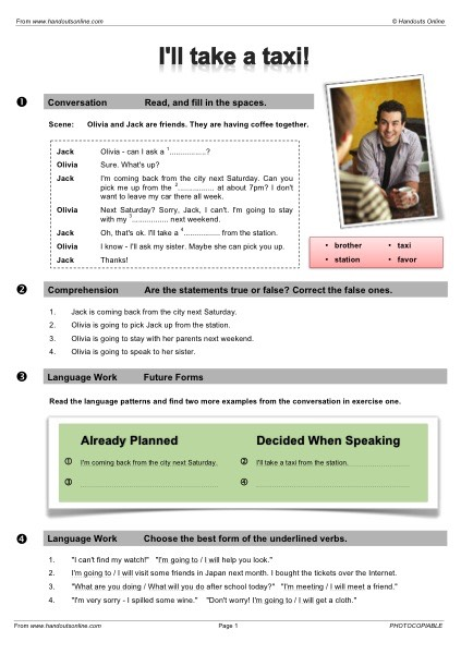 EFL TEFL ESL Worksheets, Handouts, Lesson Plans And Resources For  English Teachers.